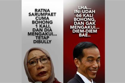 """Soal Ratna Sarmpeat, """"Yang Saya Kagumi Dari Pendukung Jokowi"""" Dibohongi Berkali-kali Tetap Kuat!"""