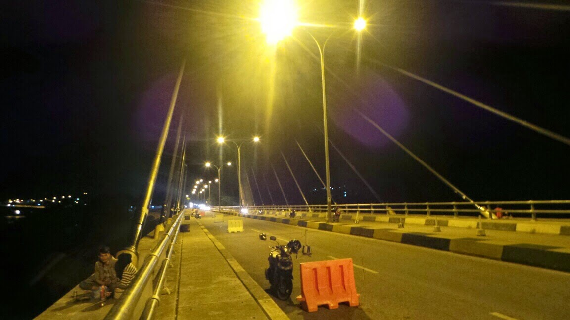 Barelang bridge at Batam