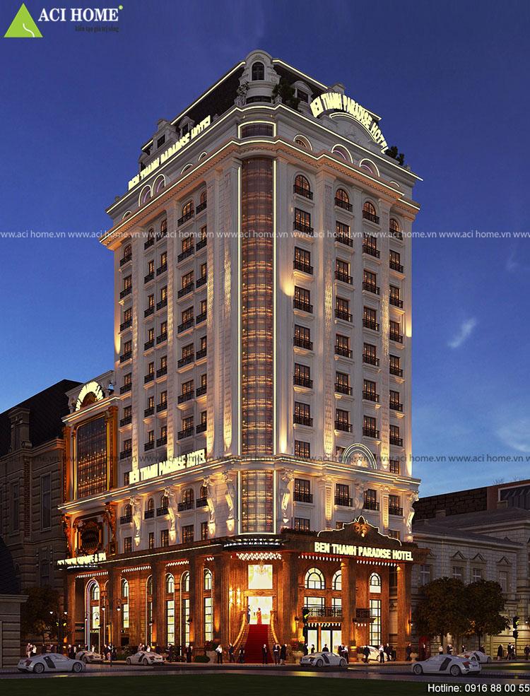 Thiết kế khách sạn cổ điển 4 sao