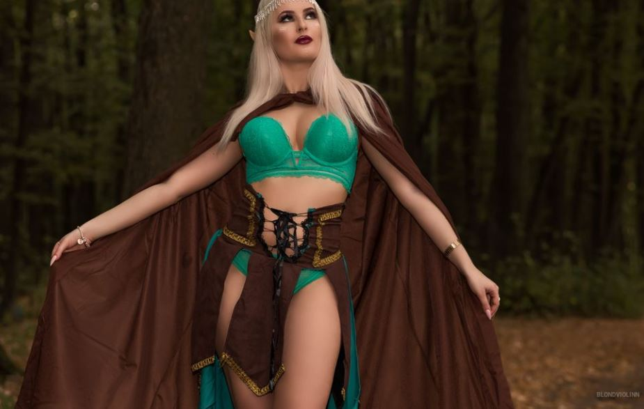 BlondViolinn Model GlamourCams