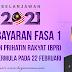 Pembayaran Fasa 1 Bantuan Prihatin Rakyat (BPR) Bermula 22 Februari 2021