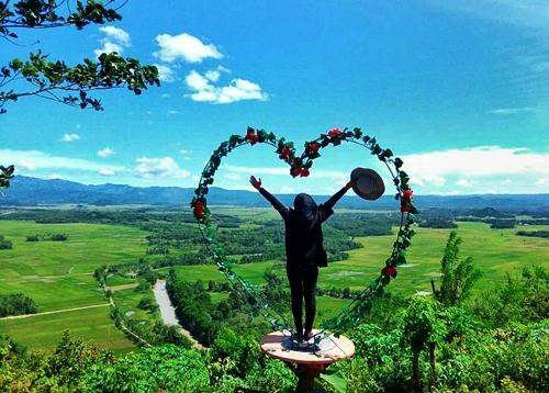 bukit blt destinasi tour wisata lampung di kabupaten pringsewu