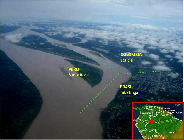 Trip to the Colombian Amazon.