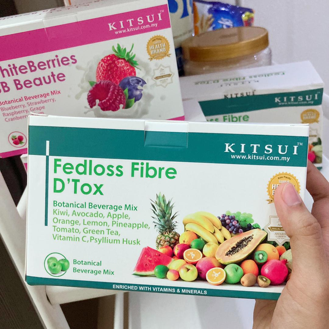 Kitsui Fedloss Fibre D'tox