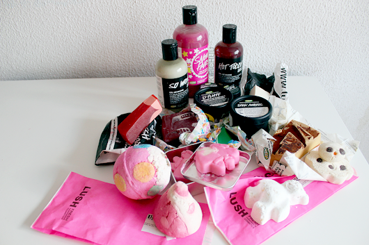 Lush Haul & Review