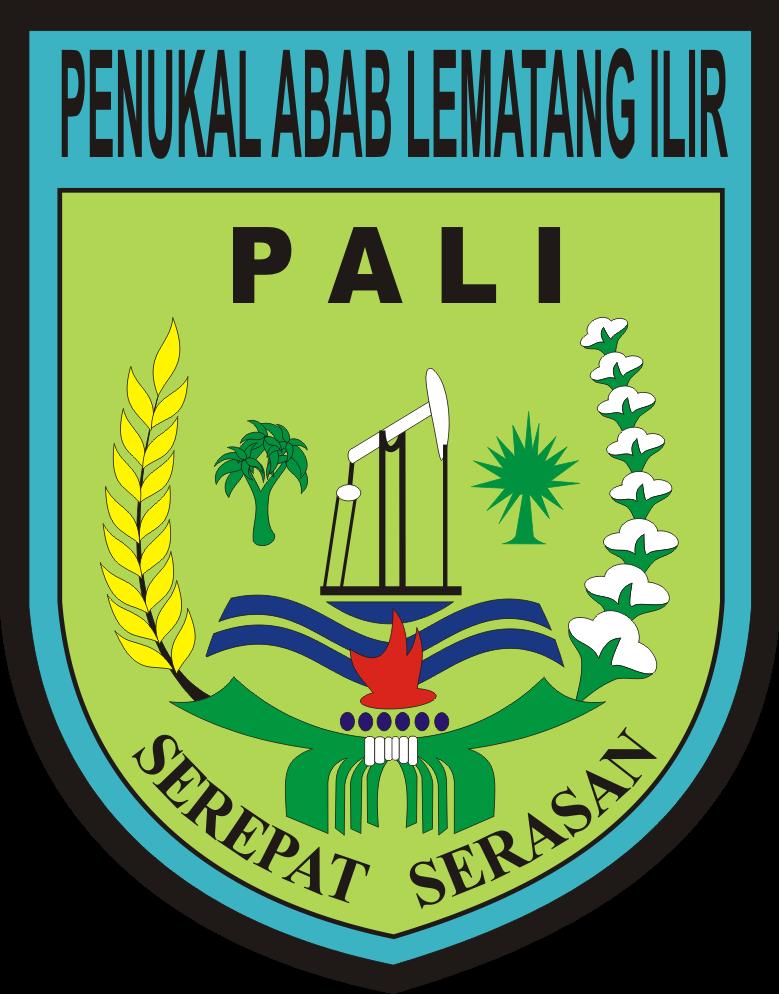 Logo Kabupaten Penukal Abab Lematang Ilir Pali Logo Lambang Indonesia