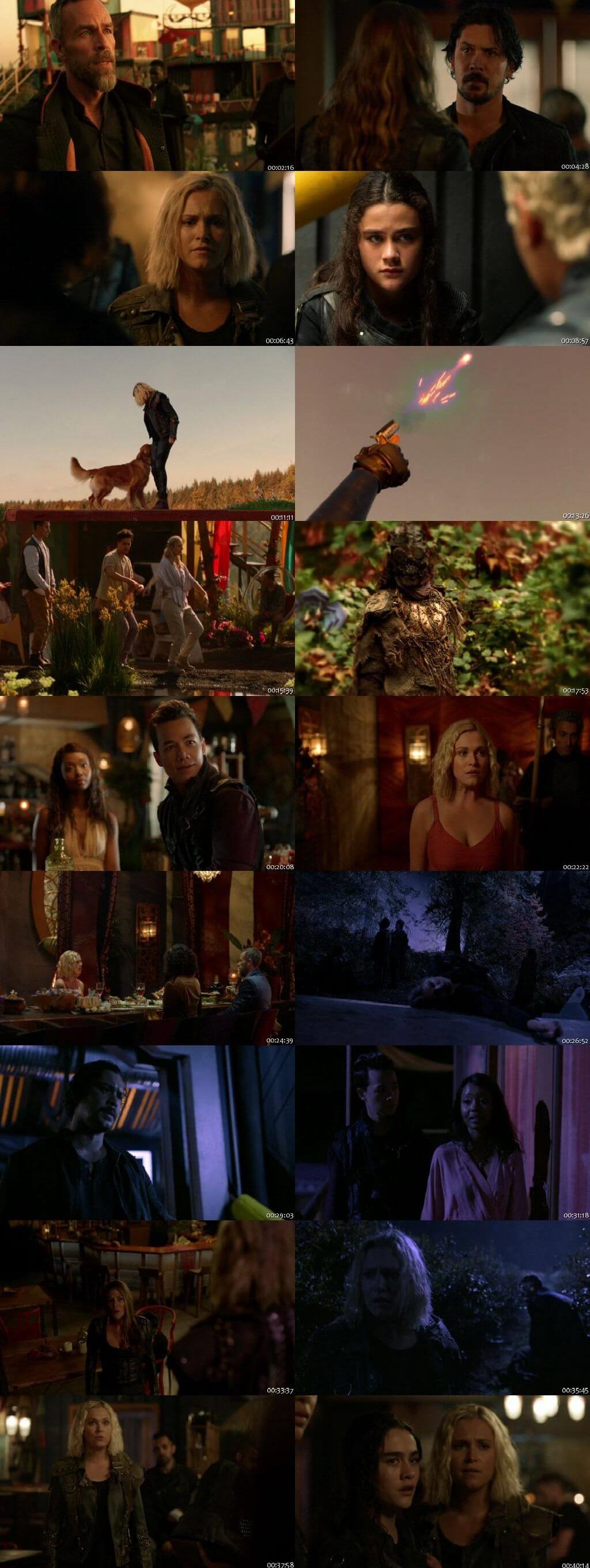 Screenshots Of English Show The 100 Season 06 Episode 04 2019 WEB-DL 720P 300MB