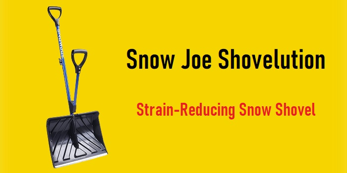 Snow Joe Shovelution - Strain-Reducing Snow Shovel