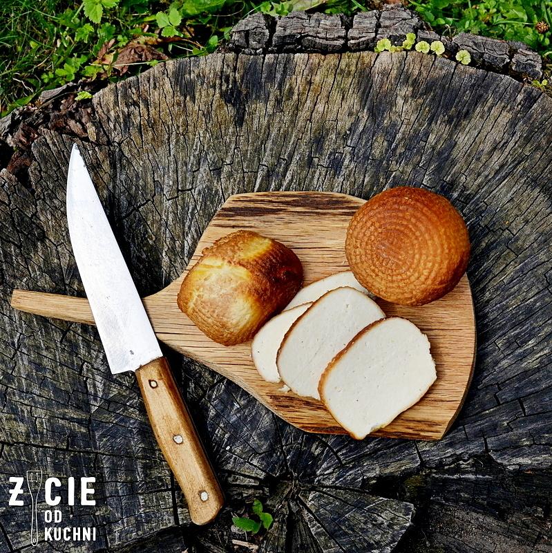wedzony ser biały, wedzenie, ser wedzony, wedzenie sera, domowa wedzarnia, ser, ser typu włoskiego, zycie od kuchni