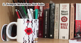 Mug Sebagai Tempat Meletakan Alat Tulis