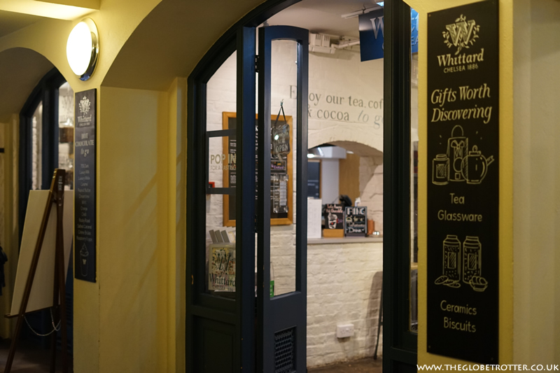 Whittard of Chelsea Tea Bar in Covent Garden