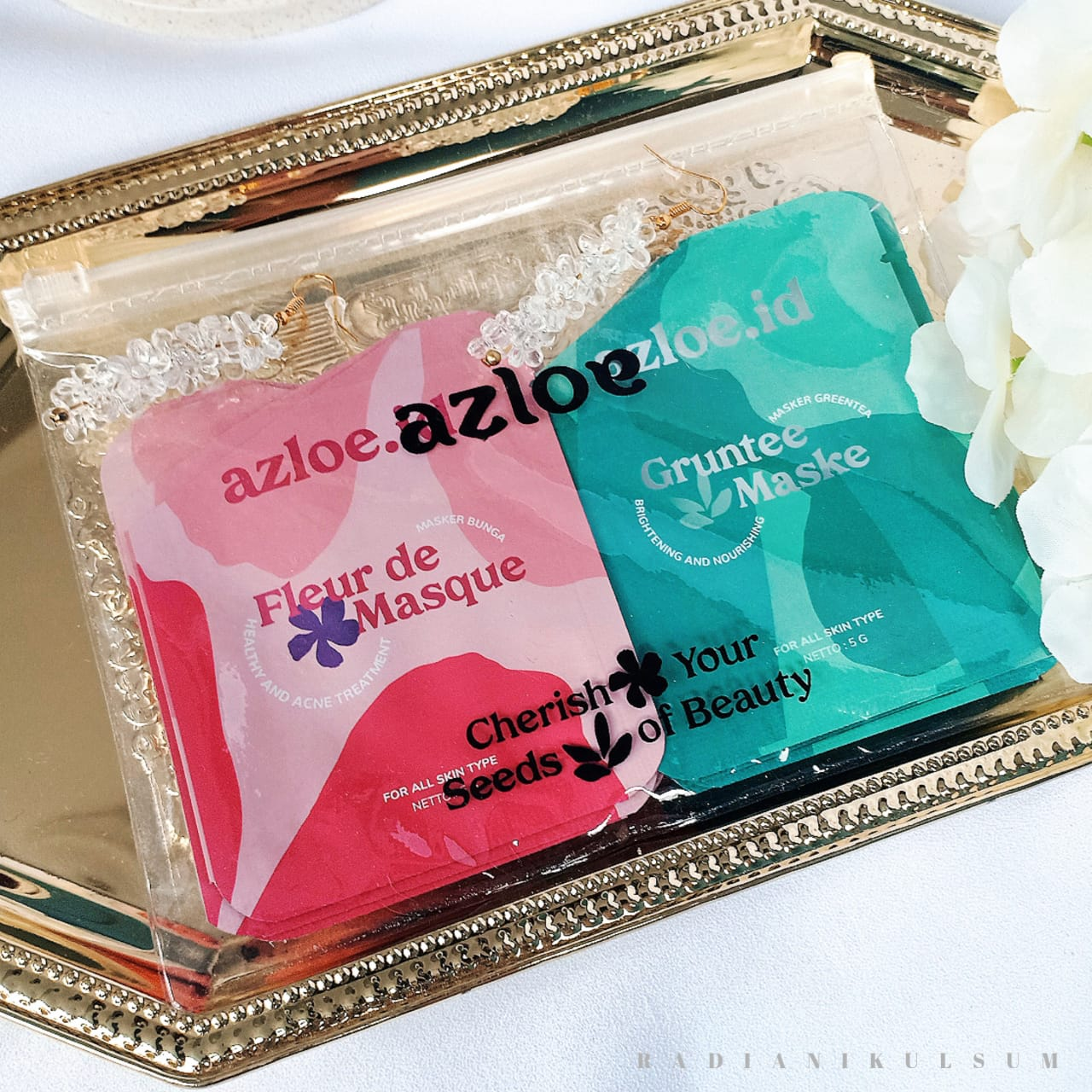 Azloe Fleur de Masque & Gruntee Maske