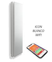 ICON Radiador Vertical Blanco