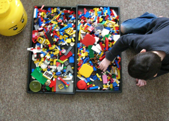 Ordinary Mommy Design Our Lego Clean Up Solution