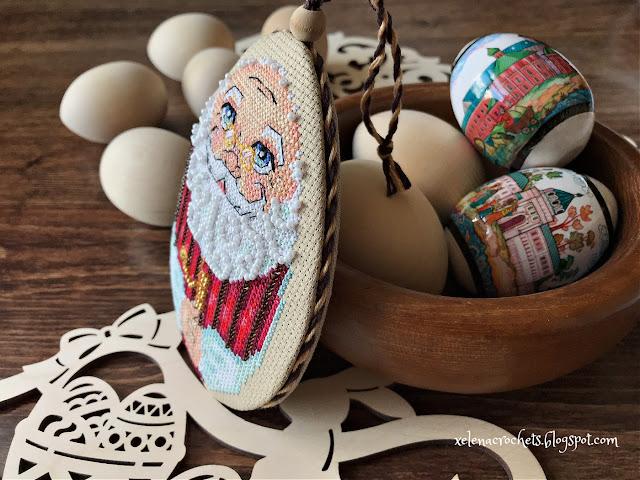 вышивка пасха яйцо