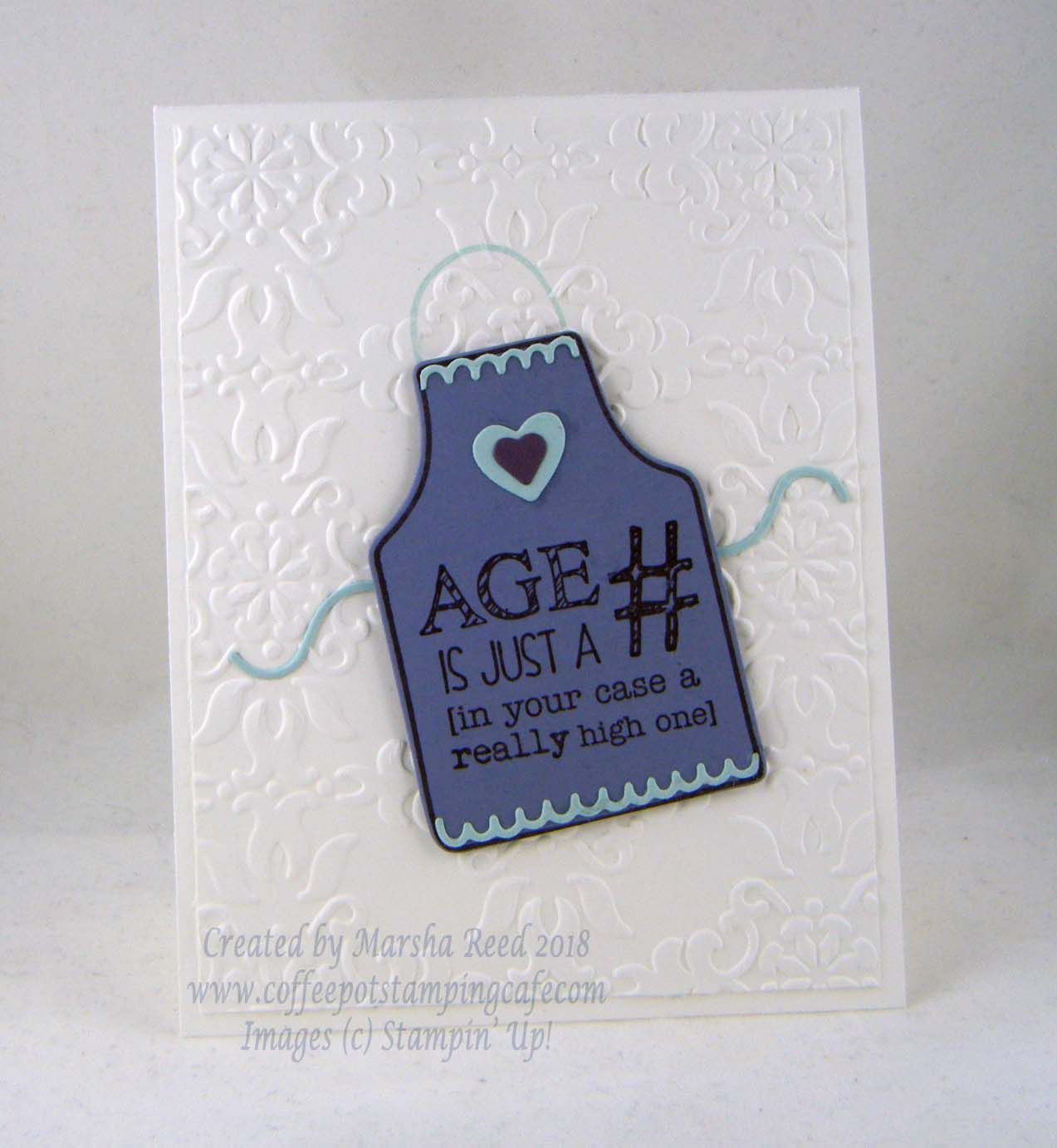 Coffee Pot Stamping Cafe: January 2018