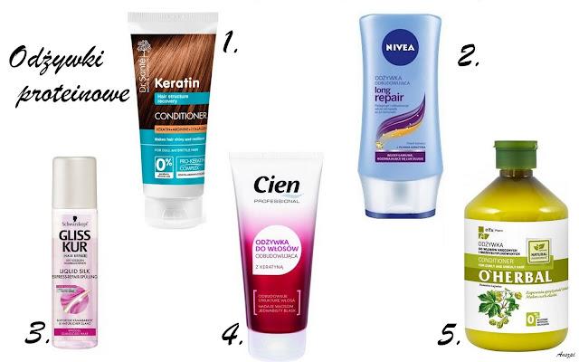 PEH-owe odżywki do włosów