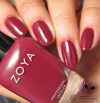 nail polish swatch of Zoya Yvonne from the fall 2017 Sophisticate collection