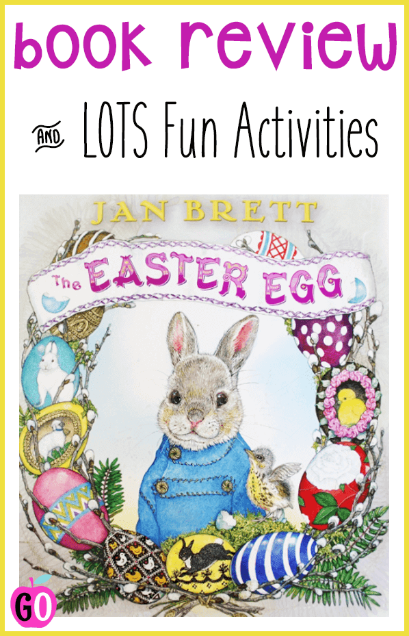 The Easter Egg by Jan Brett. Book Review and freebie activities. The Easter Egg is a sweet story about generosity, bravery and selflessness. Includes LOTS of freebies. #easter #eastereggs #easterbooks #janbrett #gradeo #easter #eastereggs #easterbooks #janbrett #gradeonederful