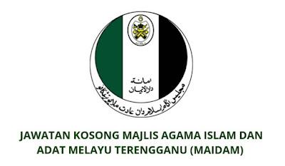 Jawatan Kosong MAIDAM 2019 Majlis Agama Islam Dan Adat Melayu Terengganu