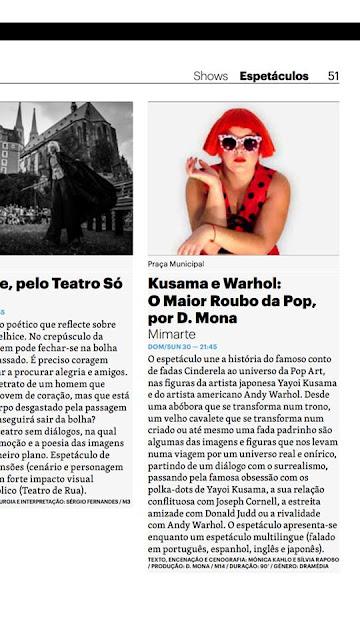 Kusama e Warhol no MIMARTE'19!