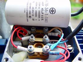 Подключение трехфазного двигателя к однофазной сети через конденсатор