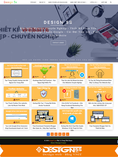 Free Template Blogger Landing Page Dịch Vụ Chia Sẻ Template - Ảnh 2