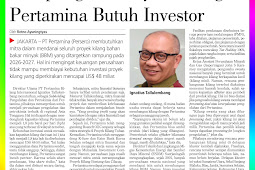 Completing the Pertamina Refinery Project Requires Investors
