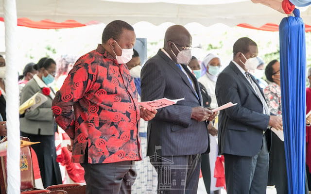 President Uhuru Kenyatta at Loreto