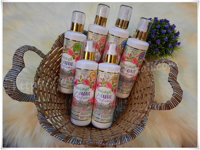Balqish Fabric Perfume with Air Humidifier