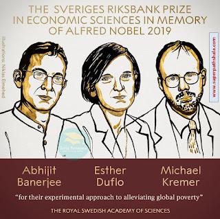 The Nobel Prize in Economics 2019 - Abhijit Banerjee, Esther Duflo and Michael Kremer
