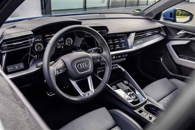 Novo Audi A3 Sedan 2021 S-Line Interior