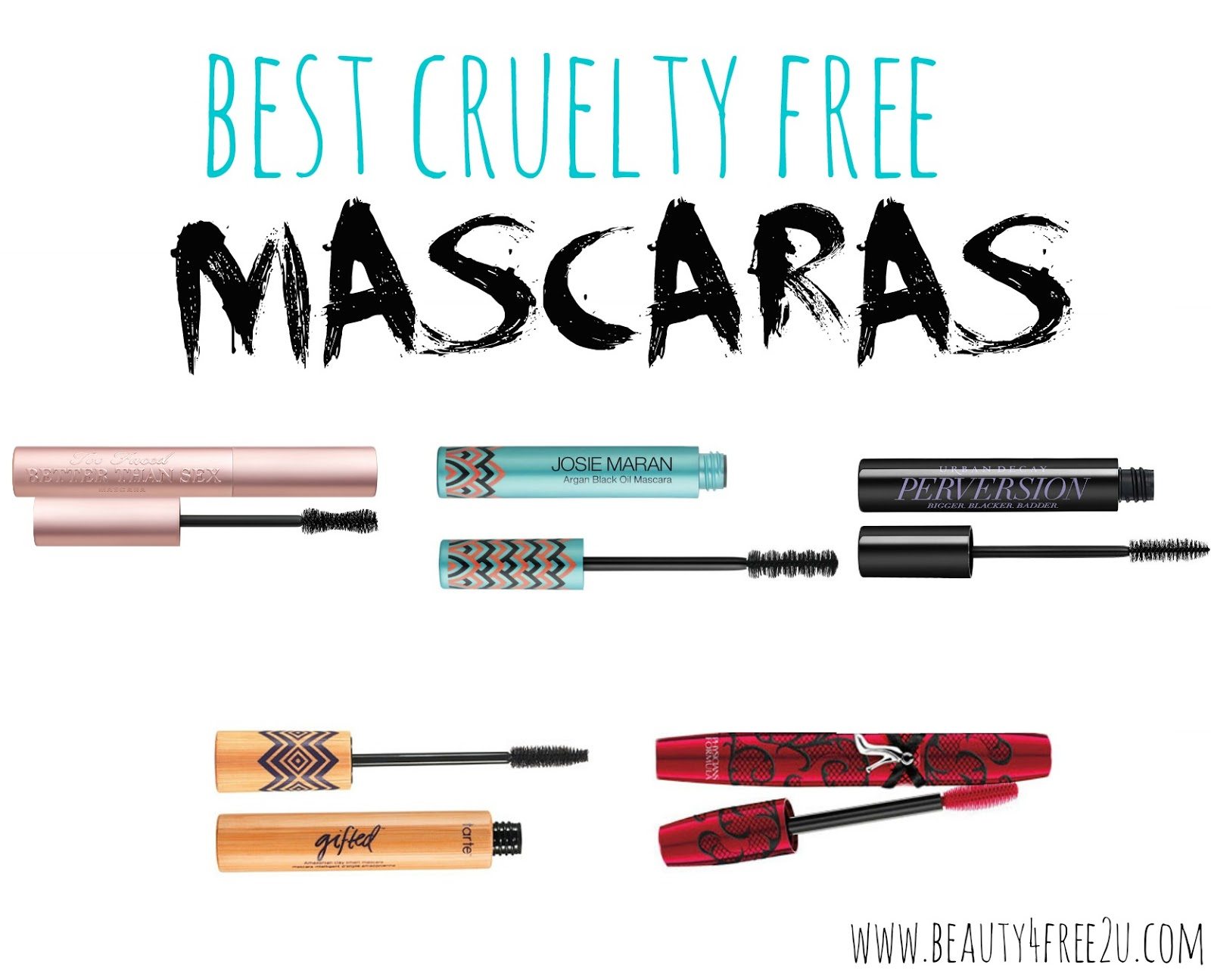 b56a19c9dbf Today I have the best cruelty free mascaras for you! I have pretty small  and not very dense lashes, so I need some pimping up here!