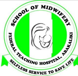 AEFUTH School of Midwifery Admission Form 2021/2022