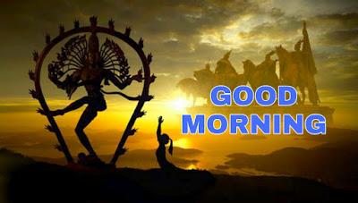 bholenath good morning image