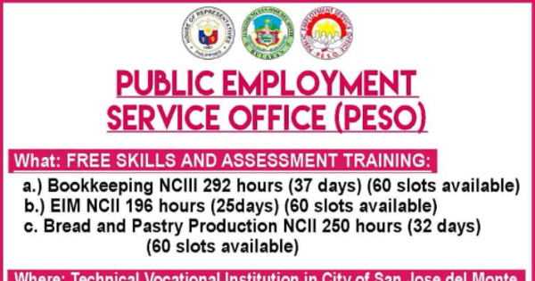 Free Skills & Assessment Training | 180 Slots Available