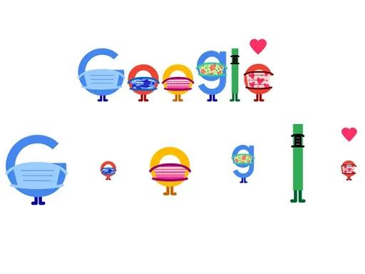 رسومات الشعار المبتكرة الجديدة من Google