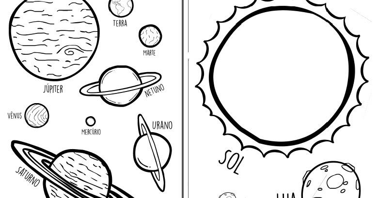 Blog Criare Sistema Solar Segunda Parte