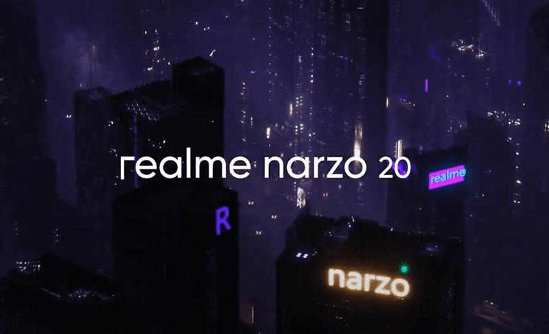 realme Narzo 20, 20 Pro, 20A now official