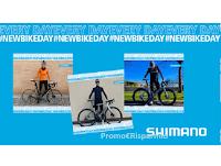 """Concorso """" Shimano #NewBikeDay"""" : gioca e vinci gratis 10 voucher da 500€"""