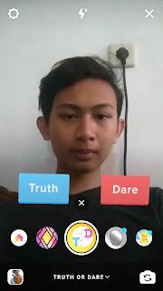 cara menggunakan truth or dare di instagram