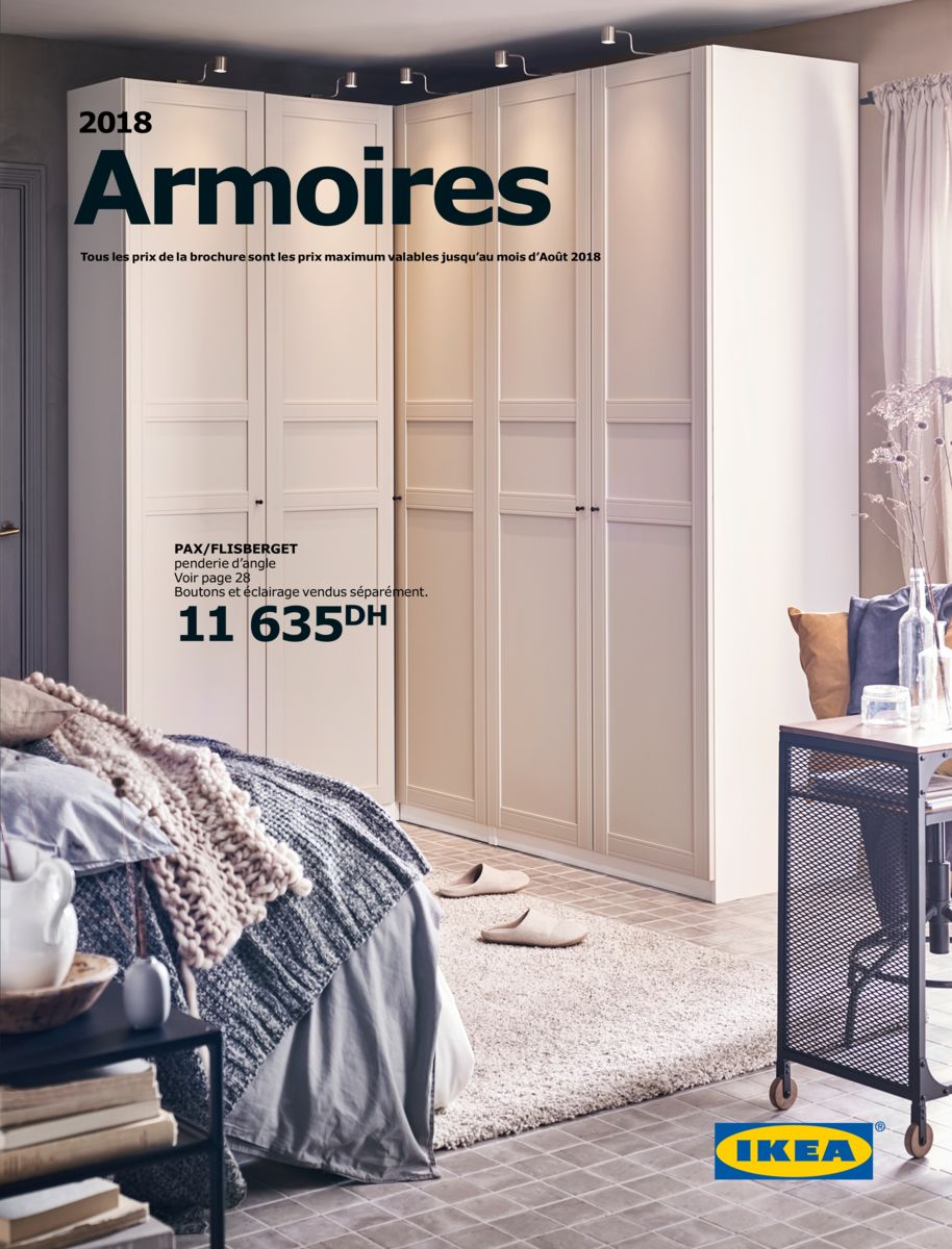 catalogue ikea maroc armoires 2018 lecatalogue 100 catalogues. Black Bedroom Furniture Sets. Home Design Ideas