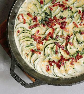 Herb Zucchini Gratin Recipe