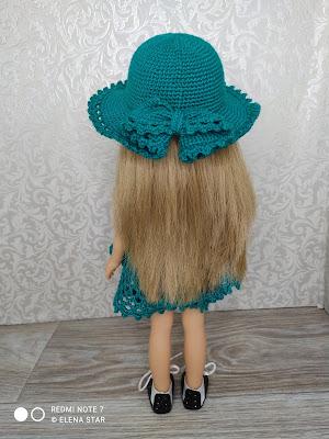 Комплект с шляпкой