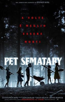 Pet Sematary, dal romanzo omonimo di Stephen King