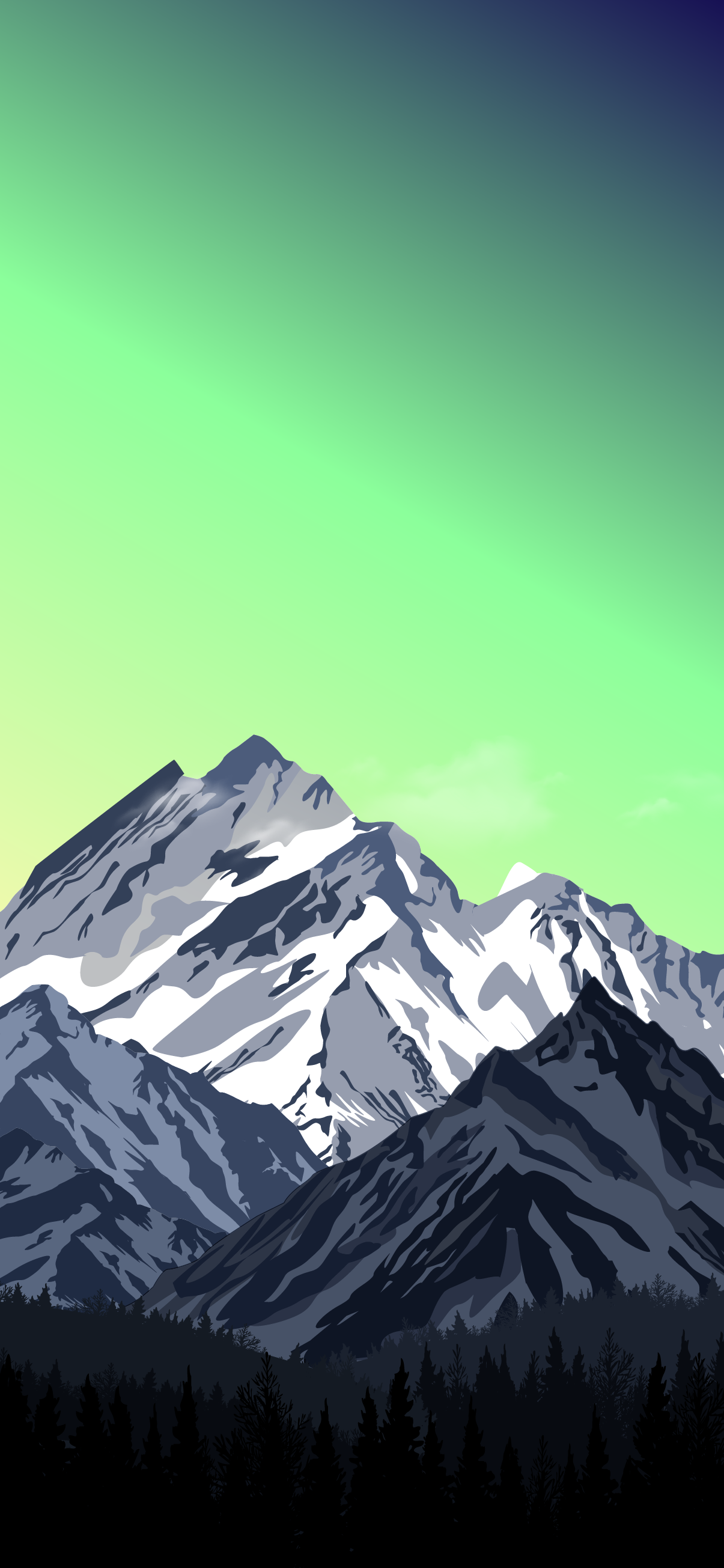 gradient sky
