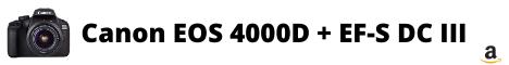 Canon Italia EOS 4000D