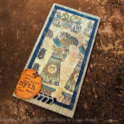 Lisa Hoel for Topflight Stamps - focus on PaperArtsy and creative goodness!  #topflightstamps #creativejuicefreshsqueezed