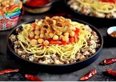 Koshari - Egyptian Cuisines