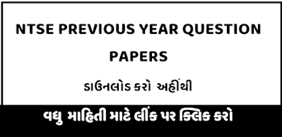 NTSE Previous Year Papers Gujarat | NTSE Papers